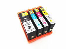 4-Pk/Pack Serie 31 32 33 34 High Yield Set Ink Cartridges For Dell V525 V725w