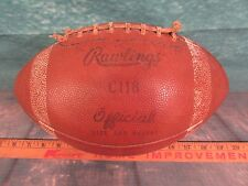 Vintage Football Rawlings C 118 official Gyro-metric leather
