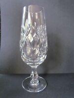 "ROYAL DOULTON CRYSTAL GEORGIAN PATTERN 6½"" CHAMPAGNE FLUTES / GLASSES (Ref3989)"