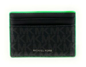 Michael Kors Cooper Men's Tall Card Case Wallet Credit Card
