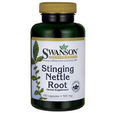 Stinging Nettle Root 500 mg 100 Caps (Urtica dioica)