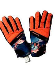 Dakine Sienna Dry Gloves Women's size M 7 Ski gloves Neon Orange