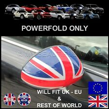 BMW MINI Cooper/S/ R55 R56 R57 R58 R59 Union Jack POWER FOLD Mirror Cap Covers