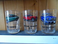 verre automobilia voiture glass car deco collection Mustang Aston Martin Ferrari