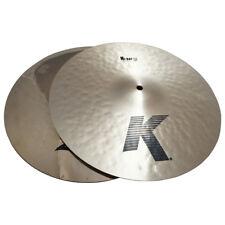 "Zildjian K0839 14"" K/Z Special Hi Hat Pair Hihat Top & Z Dyno Beat Bottom - Used"