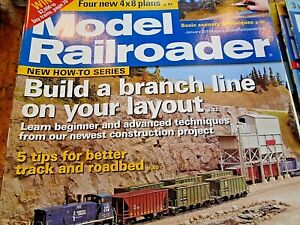 Model Railroader January 2013 Build a Branch line and more
