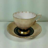 Vintage Tuscan  Fine Bone China Cup and Saucer England   ~ Rare Design