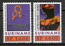 Suriname - 2001 Womens Fund (UNIFEM) -  Mi. 1777-78 MNH
