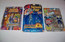 Retired retro Marvel Fantastic Four SUE STORM INVISIBLE WOMAN figure Lot ff 4