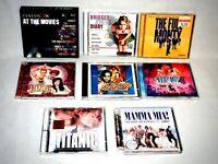 8 x CD Bundle Movie Soundtracks Titanic, Mamma Mia, Classic FM At The Movies VGC