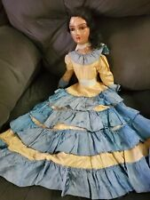 New listing Antique doll Spanish Indian Vintage bed doll As is Unknown Old dressed