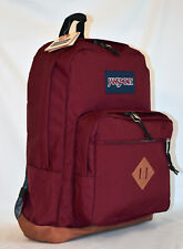 New JanSport City View Laptop Backpack -- Russet Red