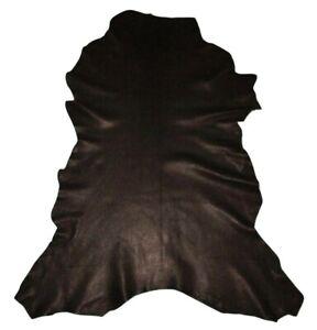 Ultra Premium 2.5 oz Classic Black Garment Goatskin Leather Hide Soft Goat Skin