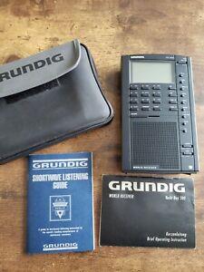 Grundig Yacht Boy YB500 Shortwave, USB  AM FM Radio Receiver with Boost Audio