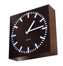Orologio da parete fissaggio a Bandiera in legno Double Side Karlsson KA5529