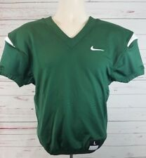NIKE Youth Vapor Pro Football Jersey Size Large Green