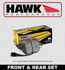 [FRONT + REAR SET] HAWK Performance Ceramic Disc Brake Pads HPP51726 [w/BREMBO]