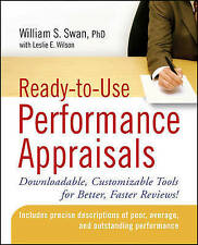 Ready-to-Use Performance Appraisals: Downloadable, Customizable Tools-ExLibrary