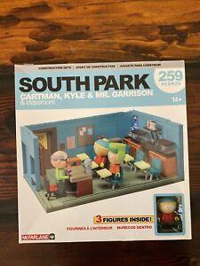 South Park Cartman Kyle Mr Garrison Classroom Construction Set McFarlane