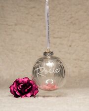 Wings memorial bauble family loss gift loved one Miscarriage keepsake angel baby