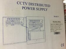 CCTV Distributed Power Supply 24v.AC/9 Output Fuse Type-PTC