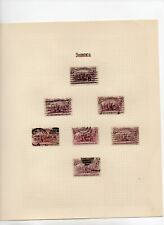USA - Sc 231 - 2c Columbian - Study on 26 pages , 177 stamps - Errors,Varieties