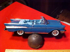 CHEVROLET BEL AIR 1957 PRECISION DIE CAST MODEL CAR 1:24 SCALE HAND  ASSEMBLED