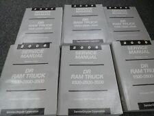 2006 Dodge Ram 1500 Truck Shop Service Repair Manual Set ST SLT Laramie SRT-10