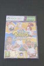 XBOX 360 : RABBIDS INVASION : LO SHOW TELEVISIVO INTERATTIVO - Nuovo, ITA !