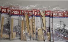 Modellbau Prinz Eugen Bausatz Hachette 1 - 95 Bauteile + Bauanleitung aussuchen