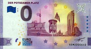 Null Euro Schein - 0 Euro Schein - Der Potsdamer Platz 2021-55