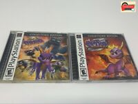 Spyro Ripto's Rage & Year Of The Dragon Sony PlayStation PS1, Tested + Manuals