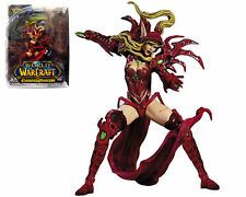 WOW WORLD of WARCRAFT BLOOD ELF ROGUE VALEERA SANGUINAR ACTION FIGURES TOY GIFT