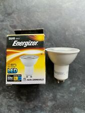 Energizer LED GU10 Bulbs5W = 50W Spot Light Lamp 3000k Warm White