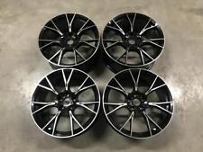 "20"" 789M M5 Competition Style Wheels Gloss Black Machined BMW E90 E92 F10 F11"