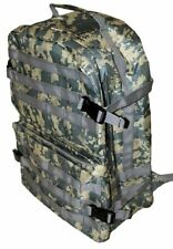 Waterproof Tactical Camo Backpack Carry Book Bag or Paintball Gear Bag