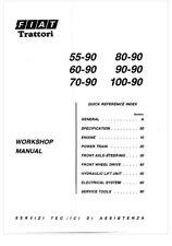 Fiat Tractor Repair Manaul 50-90, 60-90, 70-90, 80-90, 90-90,100-90 CD/Pdf File