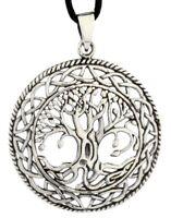 Lebensbaum Runa Anhänger Silber Gothic Schmuck NEU