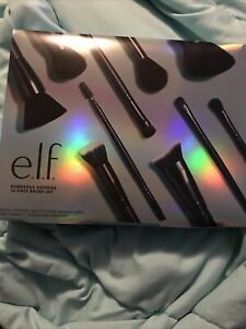 New Gorgeous Goodies 10 Piece Brush Set By E.l.f