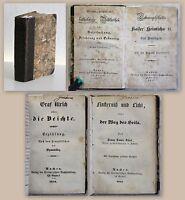 Sammelband u.a. Geschichte Kaiser Heinrichs II. 1837 Graf Ulrich 1845 Biografie