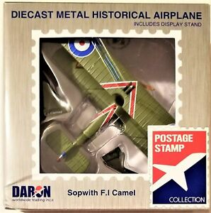 Postage Stamp - 1/63 Scale Sopwith F.I Camel (BBPS5350-2)