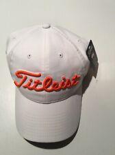 Titleist Golf Hat Adjustable Orange Pga Jr League Golf Embroidered New w/ Tags