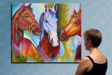 "47"" - MAGIC HORSES________ORIGINAL painting by ANNA !!!"