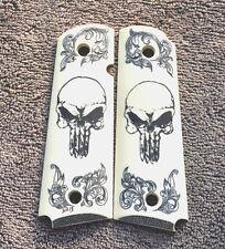 """#155  1911/Clones For Kimber/Colt Scrimshawed Scroll Works & The """"Punisher"""""""