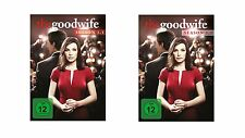 6 DVDs  * THE GOOD WIFE - STAFFEL / SEASON 1 ( 1.1 + 1.2 ) IM SET # NEU OVP +