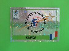 FIGURINE PANINI EURO 2000 - SCUDETTO WAPPEN BADGE N.336 FRANCE