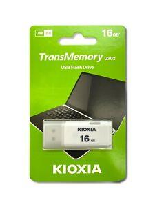 KIOXIA Toshiba 16GB USB 2.0 Flash Drives TransMemory U202