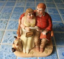 Collection of 3 Age of Love Porcelain Figurines Norman Rockwell Danbury Mint