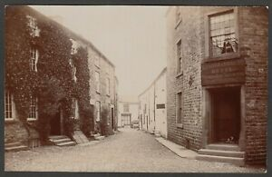Postcard Dent Cumbria the George and Dragon Hotel in Main Street early RP