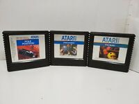 Atari 5200 Lot Of 3 Game Cartridges Only UNTESTED